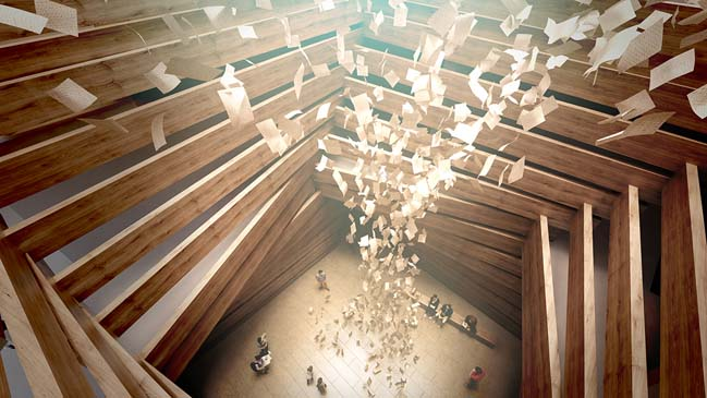 The Odunpazari Modern Art Museum by Kengo Kuma