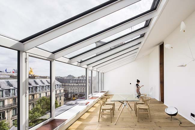 Two private apartments in Paris by aavp architecture