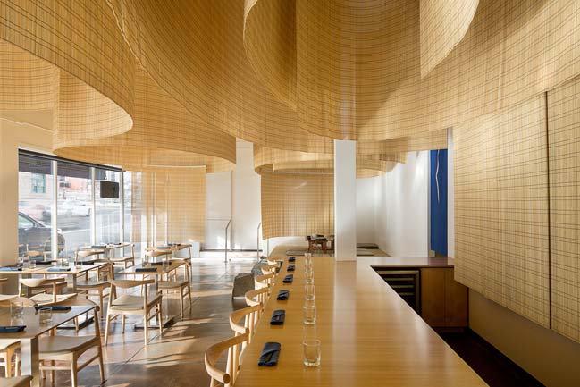 Japanese restaurant in Portland by Kengo Kuma and Associates