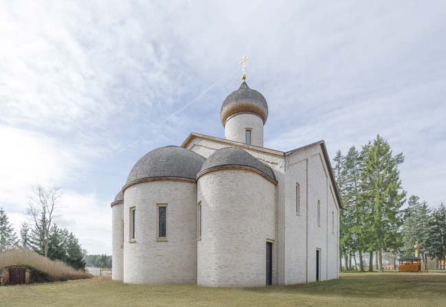 Russian Monastery of St. George by TCHOBAN VOSS Architekten