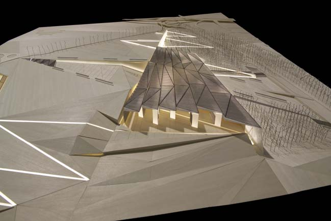The Grand Egyptian Museum by Heneghan Peng Architects