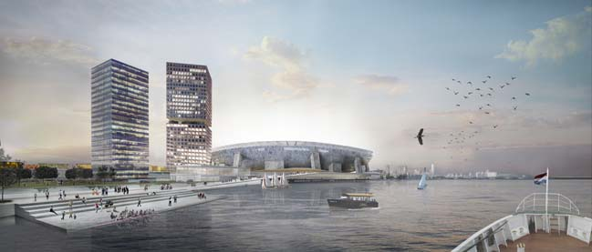 Feyenoord City by OMA