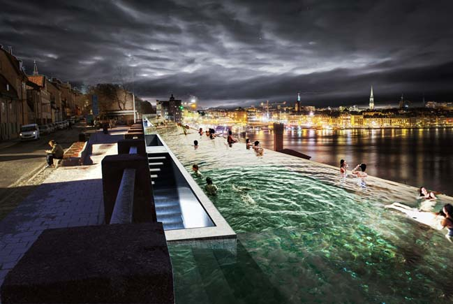 Stockholm Infinity Pool by UMA