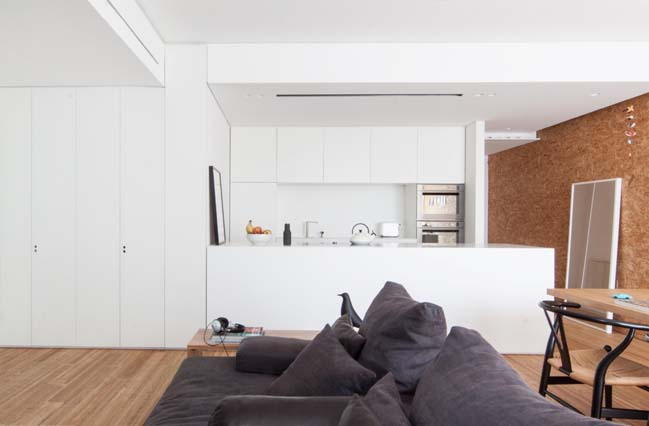 80sqm apartment renovation by Studio Didoné Comacchio