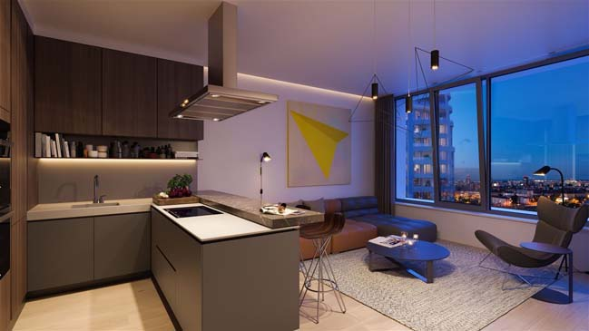 Construction of Sky Park by Zaha Hadid Architects has begun