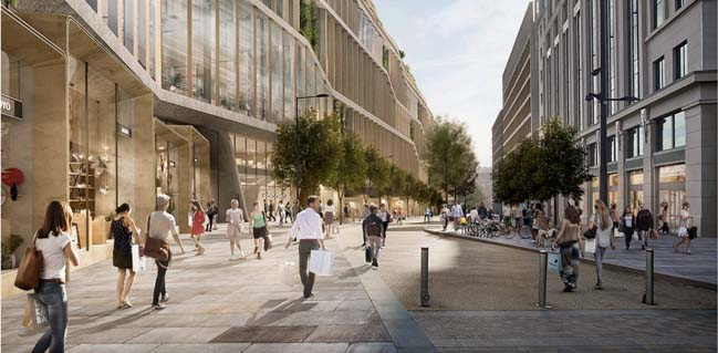 Google King's Cross by Heatherwick Studio and BIG