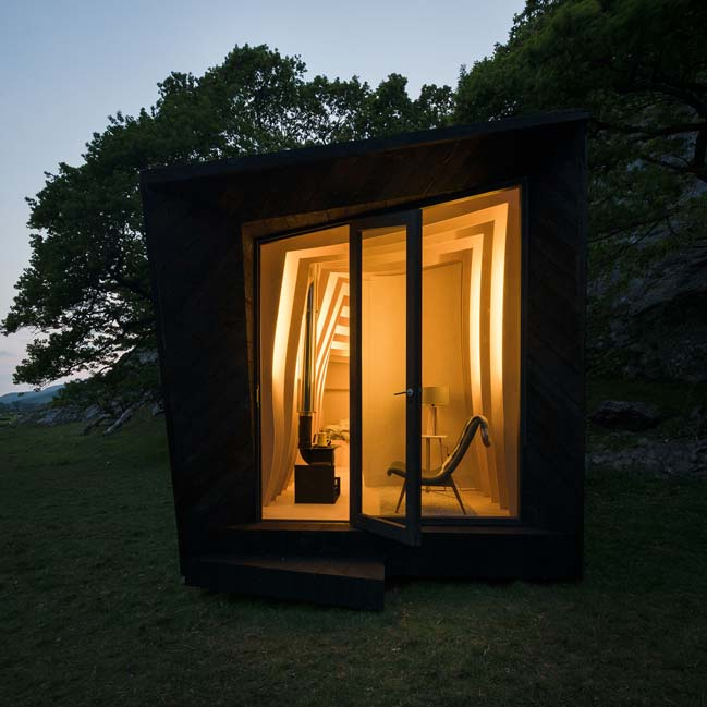 Arthur's Cave by Miller Kendrick Architects