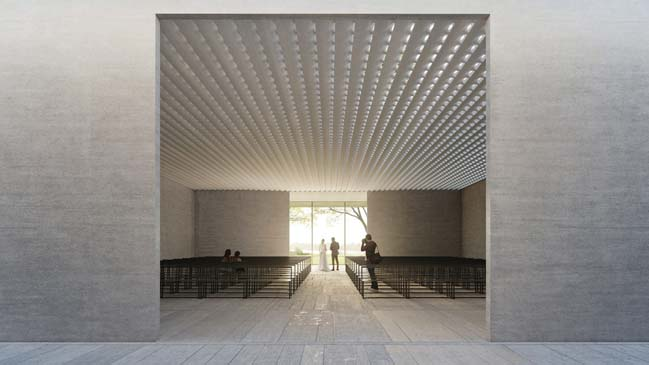 Aurora Event Center by Trahan Architects
