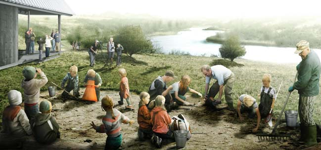 SLA wins competition for The New Hedeland in Denmark