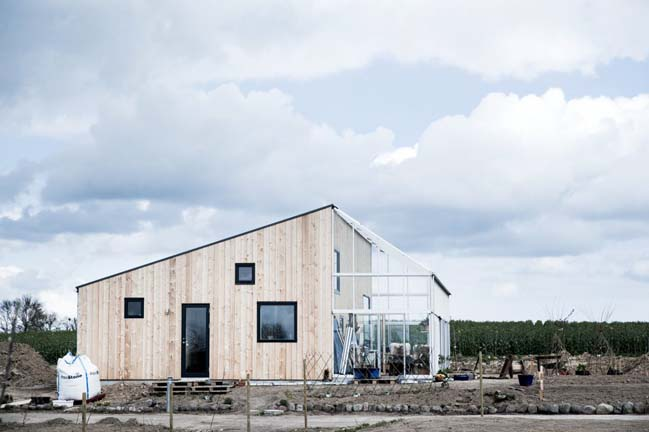 The Green House in Denmark by Sigurd Larsen