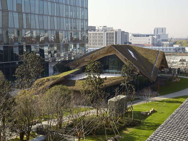 Novartis Shanghai Campus by Kengo Kuma and Associates