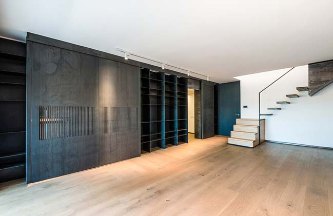 Modern duplex in Rome by NA3 Studio di Architettura