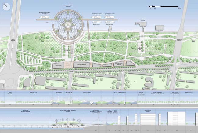 Vincent Callebaut的浮動蝠ta形渡輪碼頭