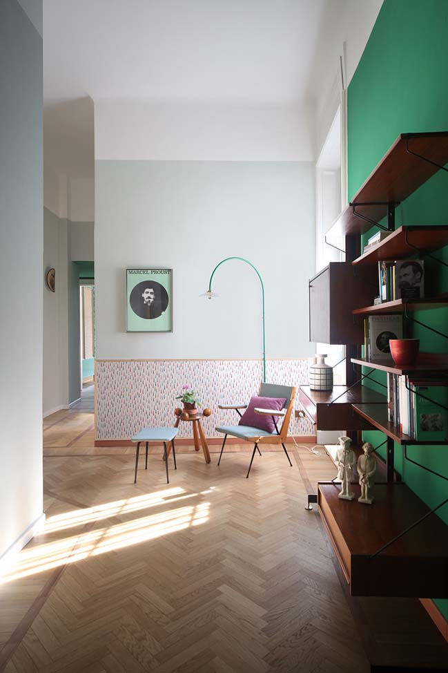 Apartment renovation in Milan by Marcante-Testa | UdA Architetti