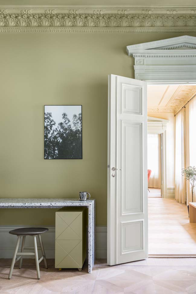 19th Century Stockholm Apartment Renovation by NOTE Design Studio