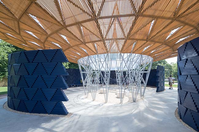Serpentine Pavilion 2017 in London by Kéré Architecture