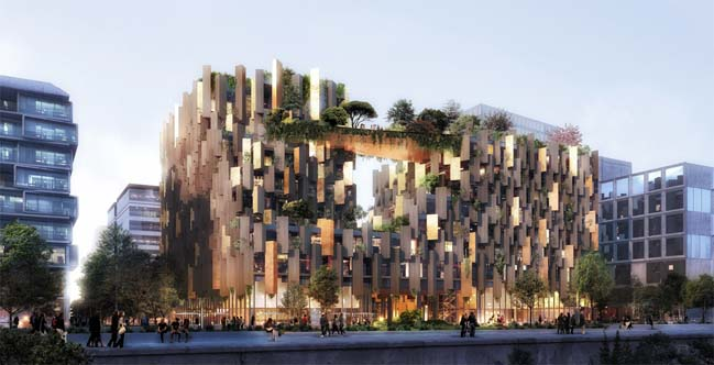 1Hotel Paris by Kengo Kuma and Associates
