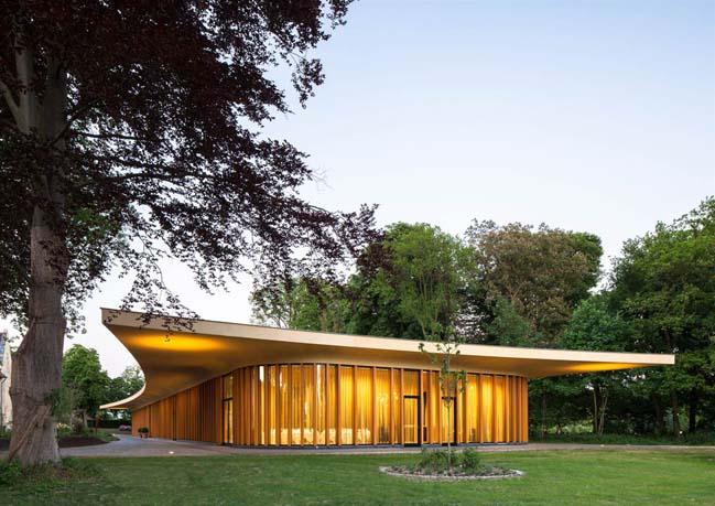 St. Gerlach Pavilion and Manor Farm by Mecanoo