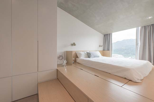 Cosy apartment interior in Hong Kong by mnb design studio