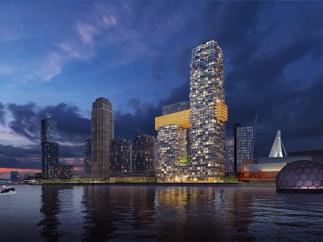 MVRDV won the competition for the Sax in the Netherlands