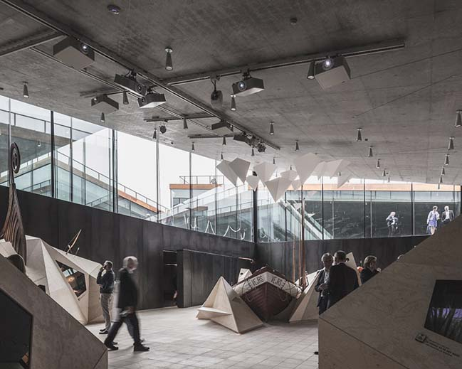 BIG transforms the WWII bunker into Invisible Museum in Denmark