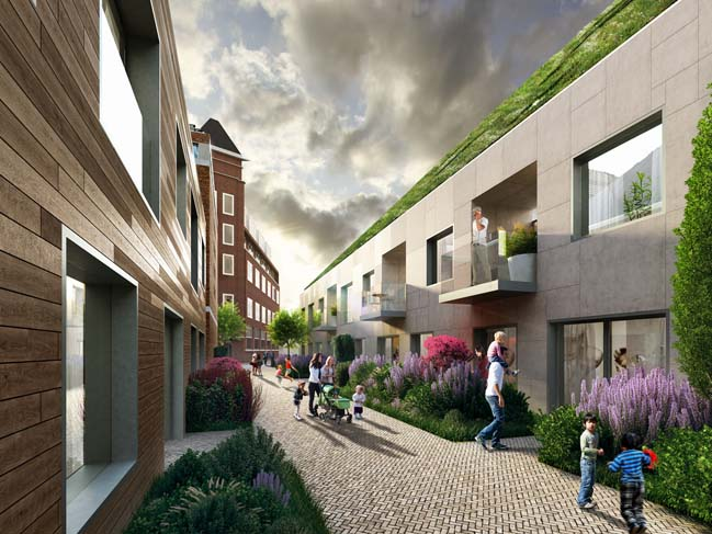 MVRDV won competition for sustainable residences in Eindhoven