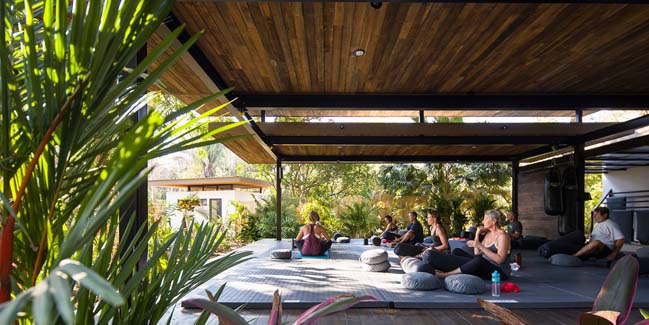 Boutique hotel and yoga studio in Costa Rica by Studio Saxe