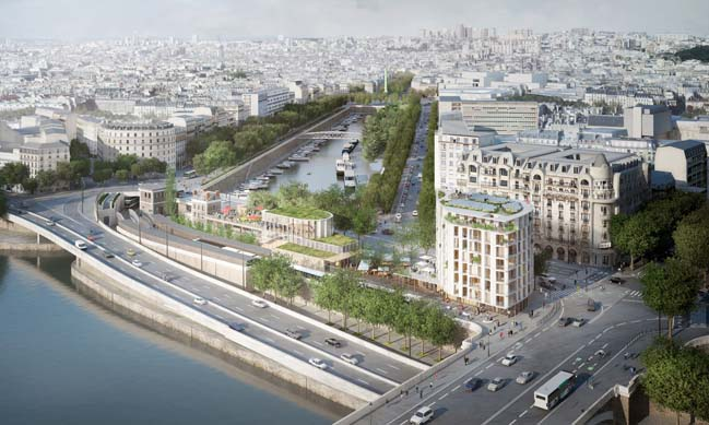Place Mazas by SO-IL and Laisne Roussel