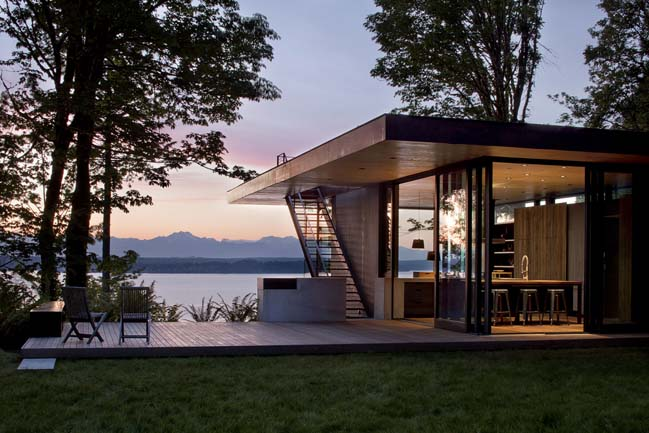Case Inlet Retreat by Mw|works Architecture + Design