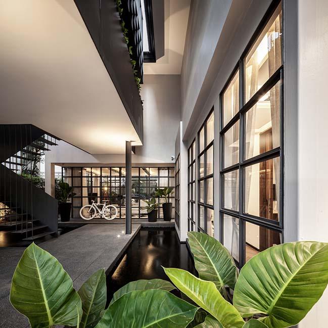 Luxury modern house in Thailand by Anonym Design