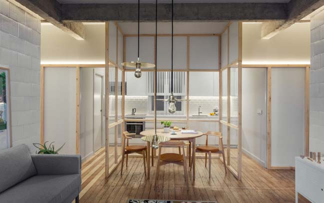 Apartment Refurbishment by PAUZARQ arquitectos
