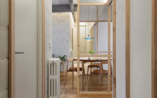 Apartment Refurbishment by PAUZARQ arquitectos