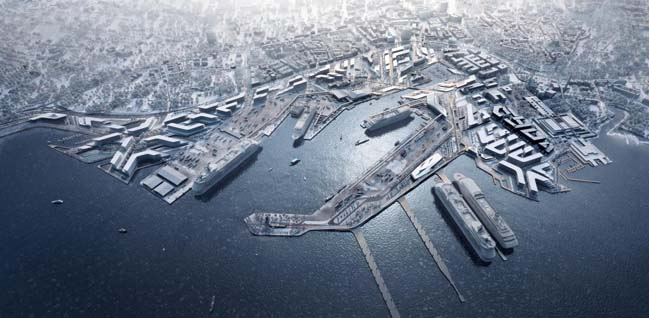 Zaha Hadids Architects transform the Old City Harbour in Tallinn