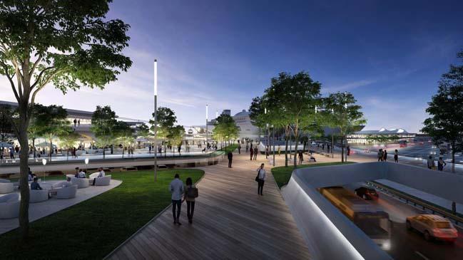 Zaha Hadids Architects transform the Old City Harbour in Tallinn