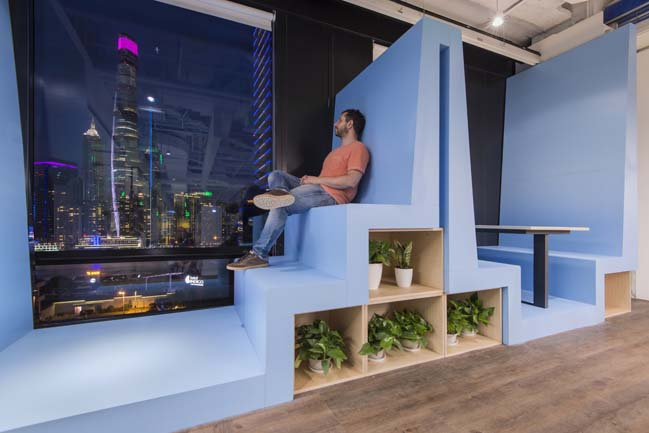 Underwater Office Space in Shanghai by 100architects