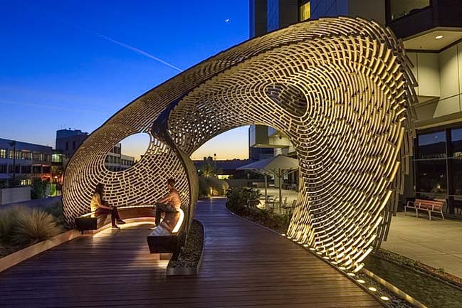 Healing Pavilion by Ball-Nogues Studio
