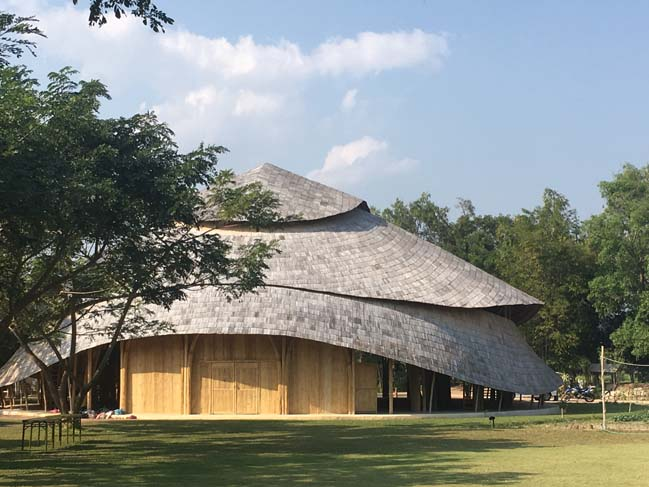 Bamboo Sports Hall Panyaden International School by CLA