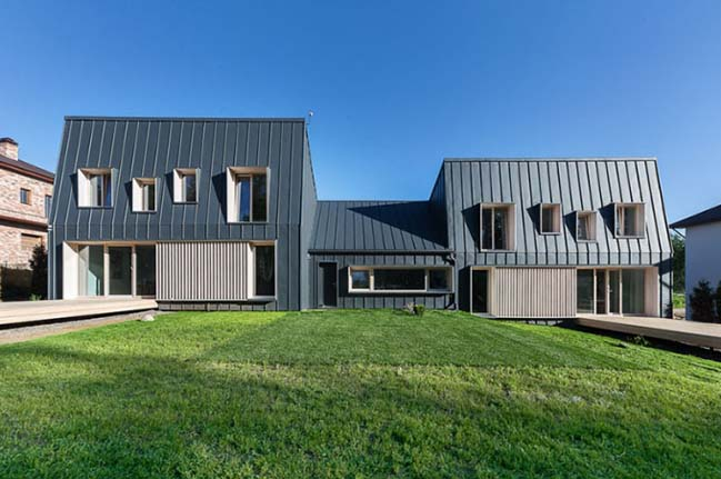 Karelian House by Drozdov&Partners