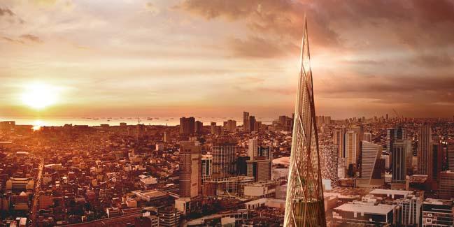 New Iconic Tower Will be a Landmark of Manila by Henning Larsen