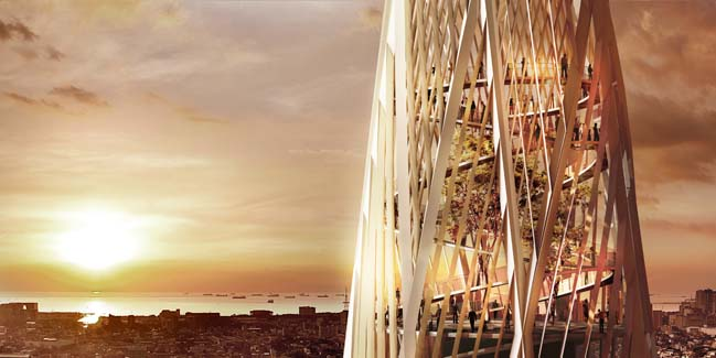 New Iconic Tower Will be a Landmark of Manila by Henning Larsen