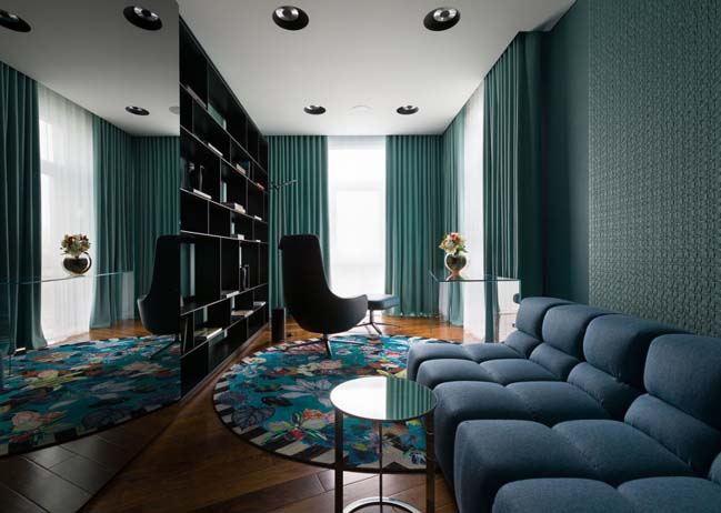 Elegant minimalism apartment by Yuriy Zimenko