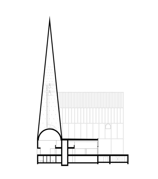 New church concept in Ylivieska by Förstberg Ling