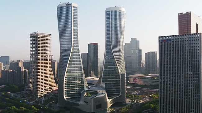 UNStudio's Raffles City Hangzhou completed