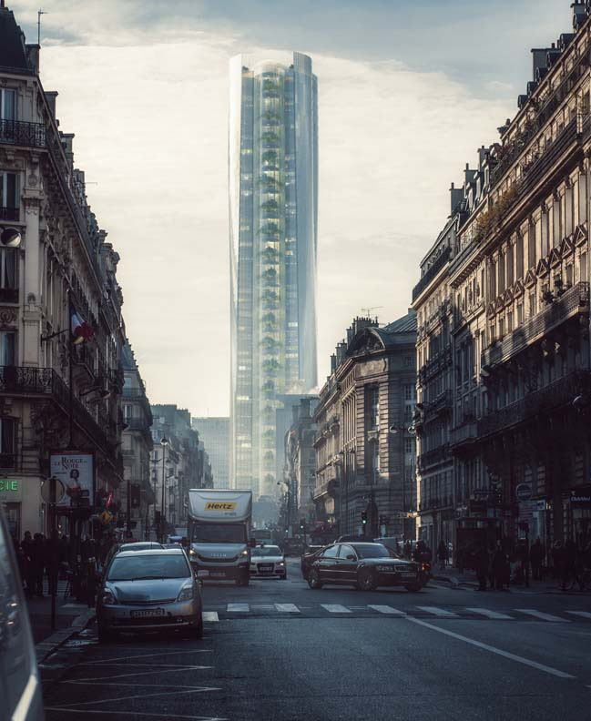 MAD reveals a renovation proposal for Montparnasse Tower in Paris