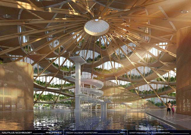 Nautilus Eco Resort by Vincent Callebaut Architectures