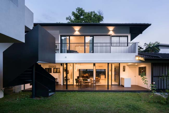 Eigent House by Fabian Tan Architect