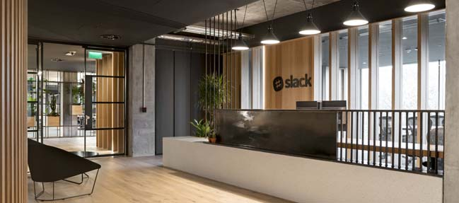 Slack European Headquaters by ODOS architects