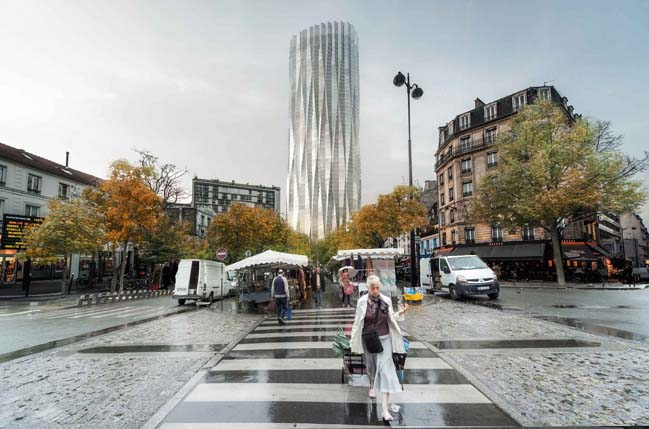 Studio Gang redesign Tour Montparnasse in Paris