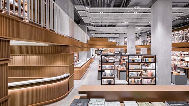 Altlife Ningbo Bookstore by Kokaistudios