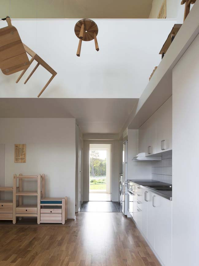 The Wooden Box House by Spridd